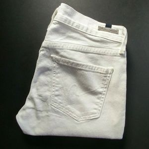 Citizens of Humanity white skinny jeans size 27